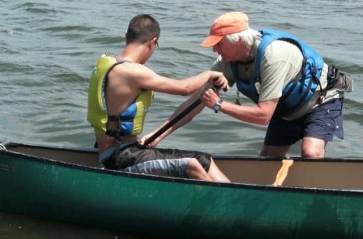 cv canoe teach